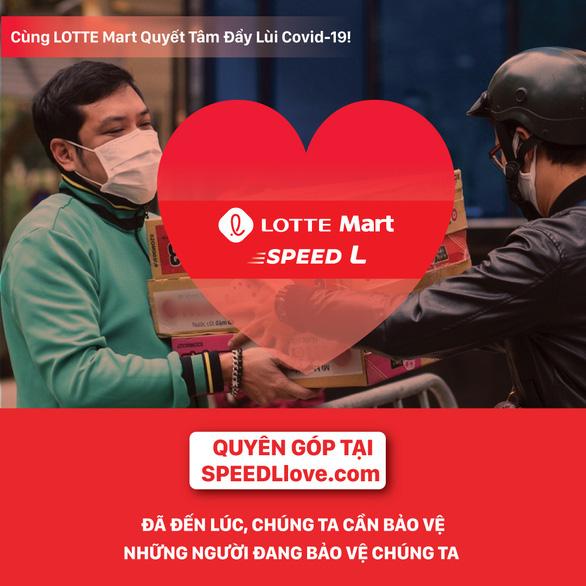 Lotte Mart Việt Nam chung tay phòng chống dịch COVID-19 - Ảnh 1.