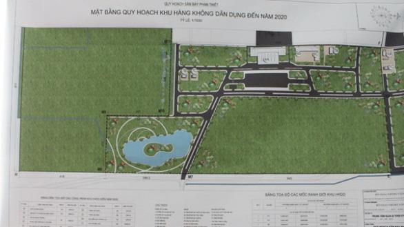 Phân định nguồn vốn, đề xuất hình thức đầu tư và xây dựng sân bay Phan Thiết - Ảnh 1.