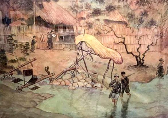 Lại nghi bán tranh giả của họa sĩ Đông Dương - Ảnh 1.