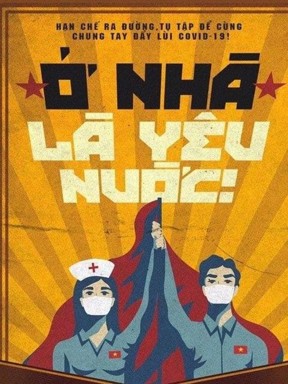 Tranh tuyên truyền chống COVID-19 của Việt Nam lên báo Anh - Ảnh 2.