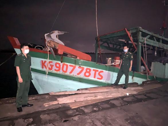 Bắt vụ khai thác 1,2 tấn hải sản nguy cấp, quý, hiếm ở Côn Đảo - Ảnh 1.