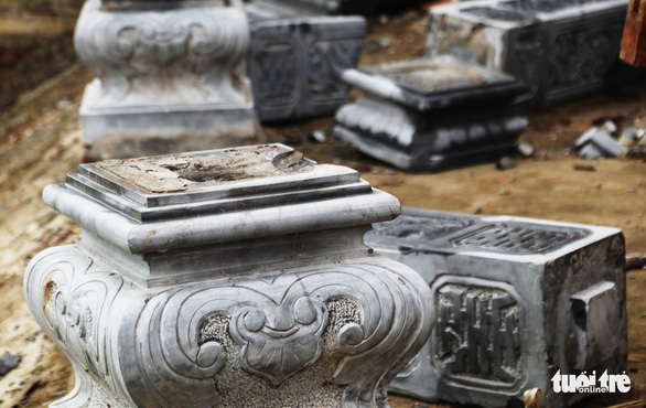 Dân tháo dỡ chùa Linh Sâm triệu đô xây 'chui' trên đất di tích quốc gia - Ảnh 7.