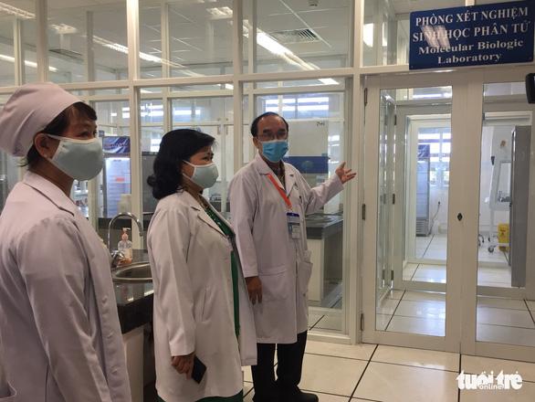 Bệnh viện Đa khoa trung tâm An Giang được xét nghiệm SARS-CoV-2 - Ảnh 1.