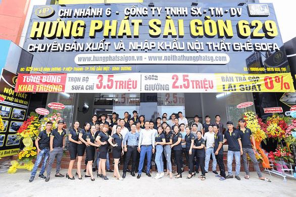 Hưng Phát Sài Gòn – thương hiệu nội thất sofa chất lượng hàng đầu tại Việt Nam - Ảnh 2.