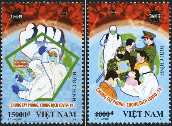 Tranh tuyên truyền chống COVID-19 của Việt Nam lên báo Anh - Ảnh 1.