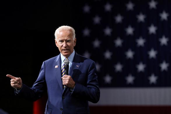 Ứng viên tổng thống Biden phủ nhận tấn công tình dục cấp dưới - Ảnh 1.