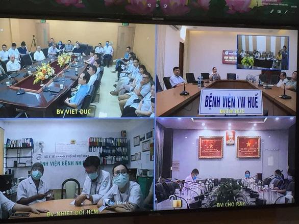Hội chẩn 3 miền Bắc, Trung, Nam: có thể chuyển bệnh nhân 91 sang Chợ Rẫy - Ảnh 1.