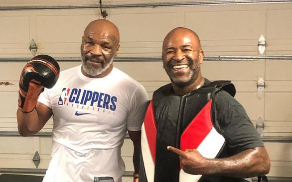 Kiên trì ăn kiêng, Mike Tyson trở lại võ đài - Ảnh 1.