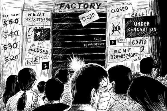 Số người thất nghiệp khó đo đếm: Thiên nga đen của Trung Quốc - Ảnh 1.