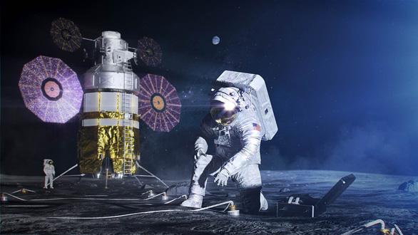 Xây dựng căn cứ trên Mặt trăng bằng vật liệu bất ngờ - Ảnh 3.