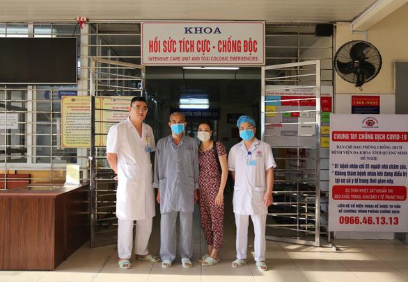 Bệnh nhân cúm biến chứng tương tự COVID-19 thể nặng được cứu sống - Ảnh 1.