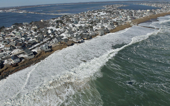 Nghiên cứu mới: Nước biển sẽ dâng cao hơn nhiều so với dự báo - Ảnh 1.
