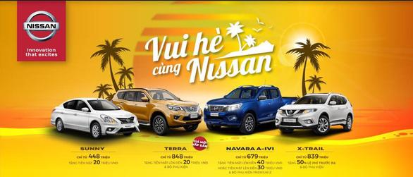 Chương trình ưu đãi dành cho khách hàng mua xe Nissan trong tháng 5-2020 - Ảnh 1.