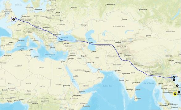 Bamboo Airways đưa công dân Anh và EU hồi hương trên chặng Hà Nội - London - Ảnh 3.