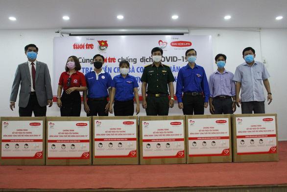 300 triệu đồng Cùng Tuổi Trẻ chống dịch COVID-19 đến tay người nghèo Cần Thơ - Ảnh 3.
