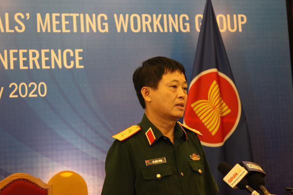 Diễn tập xử lý tình huống quân y ASEAN trong       phòng chống dịch bệnh - Ảnh 1.
