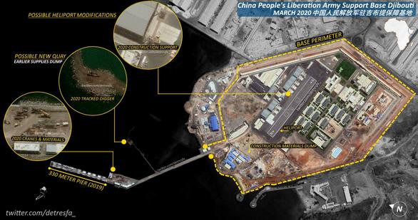Trung Quốc mở rộng căn cứ ở châu Phi, đủ sức tiếp tàu sân bay, tàu ngầm - Ảnh 1.
