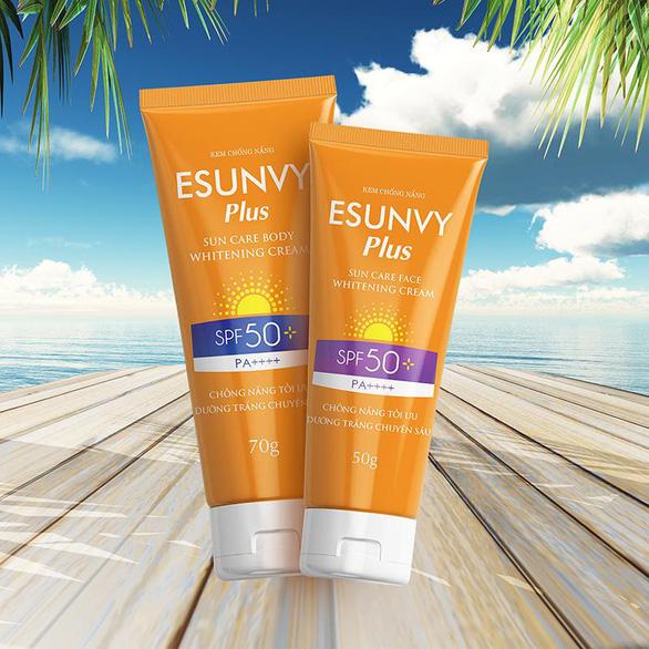 Kem chống nắng Esunvy: Chống nắng tối ưu - dưỡng trắng chuyên sâu - Ảnh 2.