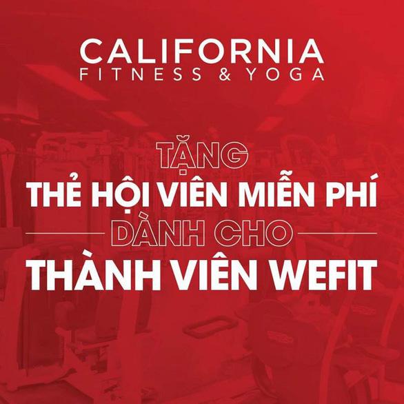 California Fitness & Yoga hỗ trợ gói hội viên cho khách hàng của WeFit - Ảnh 2.