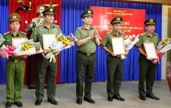 Công an Bình Dương, Bình Thuận: điều chuyển hàng loạt lãnh đạo phòng - Ảnh 2.