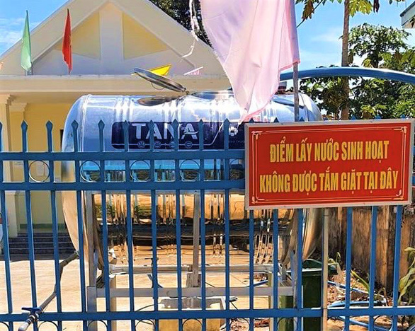 ATM nước nghĩa tình cho vùng khát nhất tỉnh Khánh Hòa - Ảnh 2.
