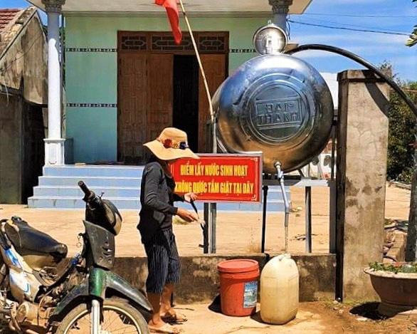 ATM nước nghĩa tình cho vùng khát nhất tỉnh Khánh Hòa - Ảnh 1.