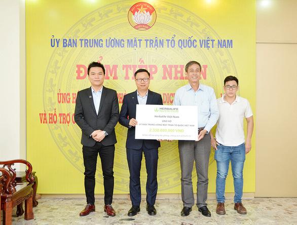 Herbalife Việt Nam chung tay phòng chống dịch COVID-19 - Ảnh 1.