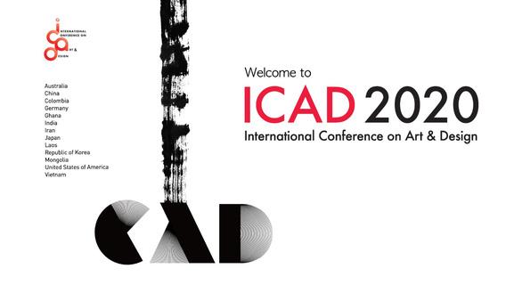 ĐH Văn Lang khai mạc Triển lãm thiết kế mỹ thuật quốc tế ICAD 2020 - Ảnh 1.