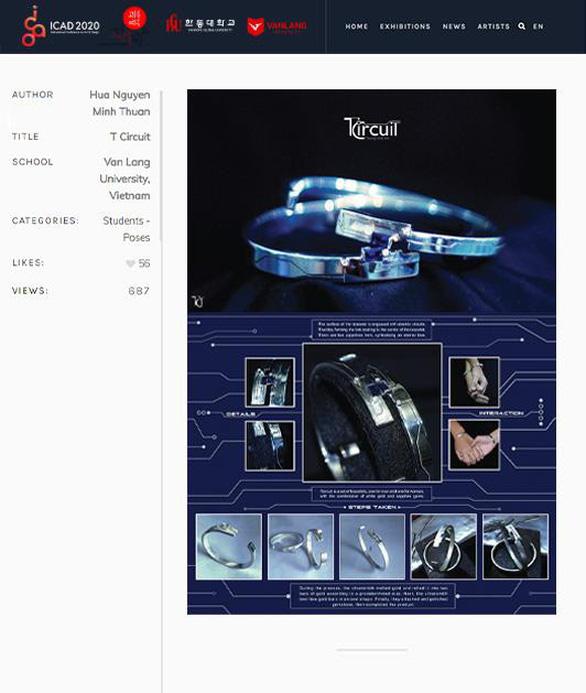 ĐH Văn Lang khai mạc Triển lãm thiết kế mỹ thuật quốc tế ICAD 2020 - Ảnh 2.