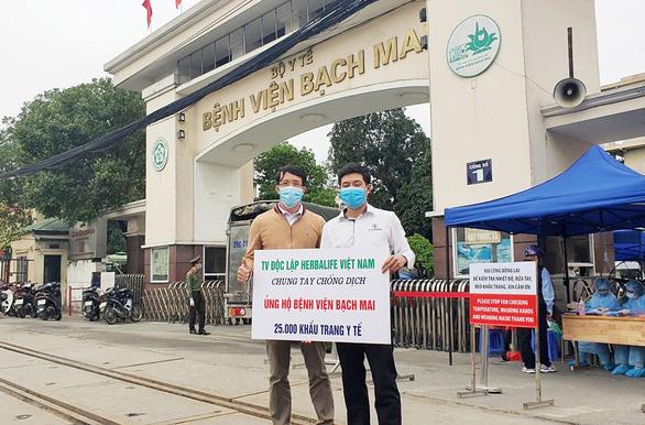 Herbalife Việt Nam chung tay phòng chống dịch COVID-19 - Ảnh 3.