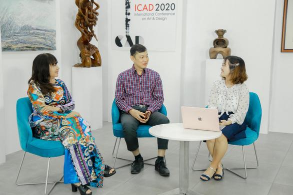 ĐH Văn Lang khai mạc Triển lãm thiết kế mỹ thuật quốc tế ICAD 2020 - Ảnh 3.