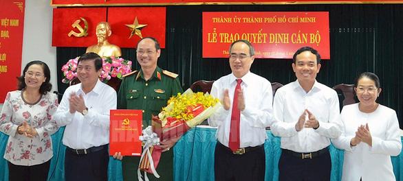 Bổ sung nhân sự Ban Chấp hành, Ban Thường vụ Thành ủy TP.HCM - Ảnh 1.