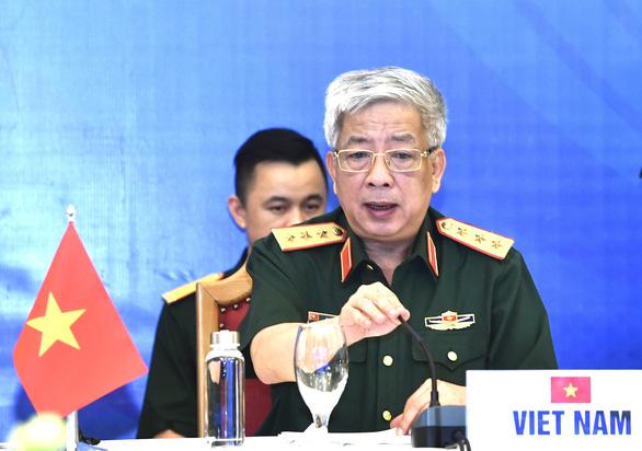 Chính thức khai mạc hội nghị trực tuyến quan chức quốc phòng cấp cao ASEAN - Ảnh 1.