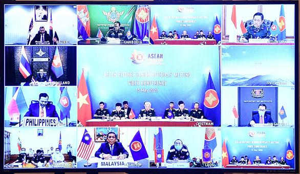 Chính thức khai mạc hội nghị trực tuyến quan chức quốc phòng cấp cao ASEAN - Ảnh 2.