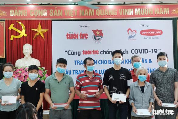 300 triệu đồng Cùng Tuổi Trẻ chống dịch COVID-19 đến tay đồng bào Hà Giang - Ảnh 4.
