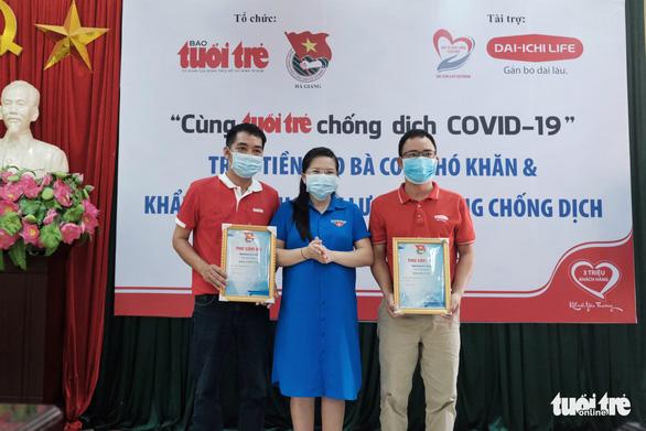 300 triệu đồng Cùng Tuổi Trẻ chống dịch COVID-19 đến tay đồng bào Hà Giang - Ảnh 6.