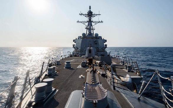 Khi 2 bờ eo biển Đài Loan căng thẳng, Pháp, Mỹ song kiếm hợp bích - Ảnh 1.