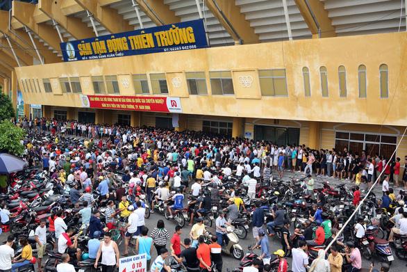 CLB Dược Nam Hà Nam Định xin mở cửa sân Thiên Trường ở Cúp quốc gia - Ảnh 1.