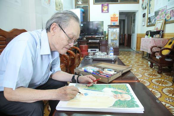 Gần 50 năm vẽ chân dung Bác - Ảnh 2.
