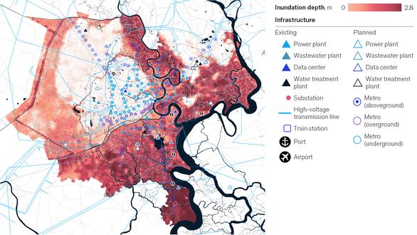 Nguy cơ ngập lụt tại TP.HCM có thể tăng 10 lần cho đến 2050 - Ảnh 2.