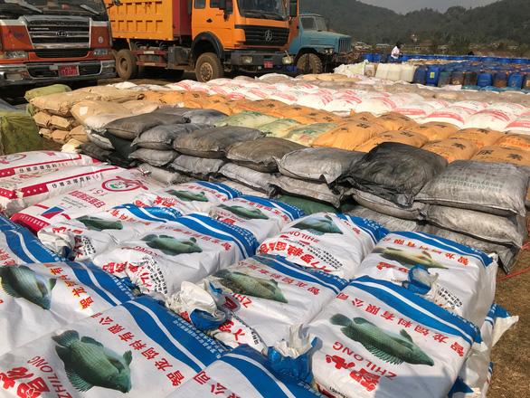 Myanmar phá vụ án ma túy lớn nhất châu Á, trị giá hàng trăm triệu đô - Ảnh 1.