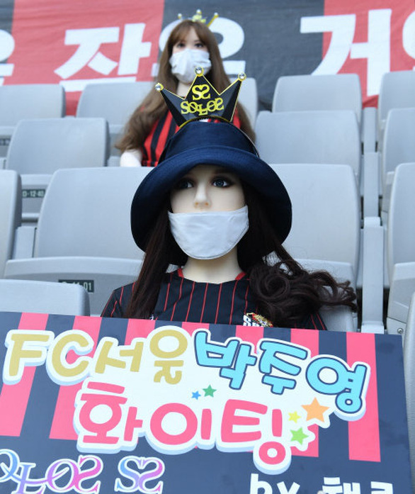 Chùm ảnh K-League sử dụng Búp bê bơm hơi để khán đài không...quá lạnh  - Ảnh 6.