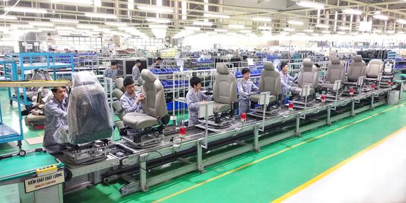 Thaco gia tăng xuất khẩu linh kiện ghế ôtô - Ảnh 1.