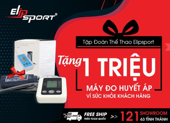Elipsport tặng 1 triệu máy đo huyết áp đến khách hàng - Ảnh 1.