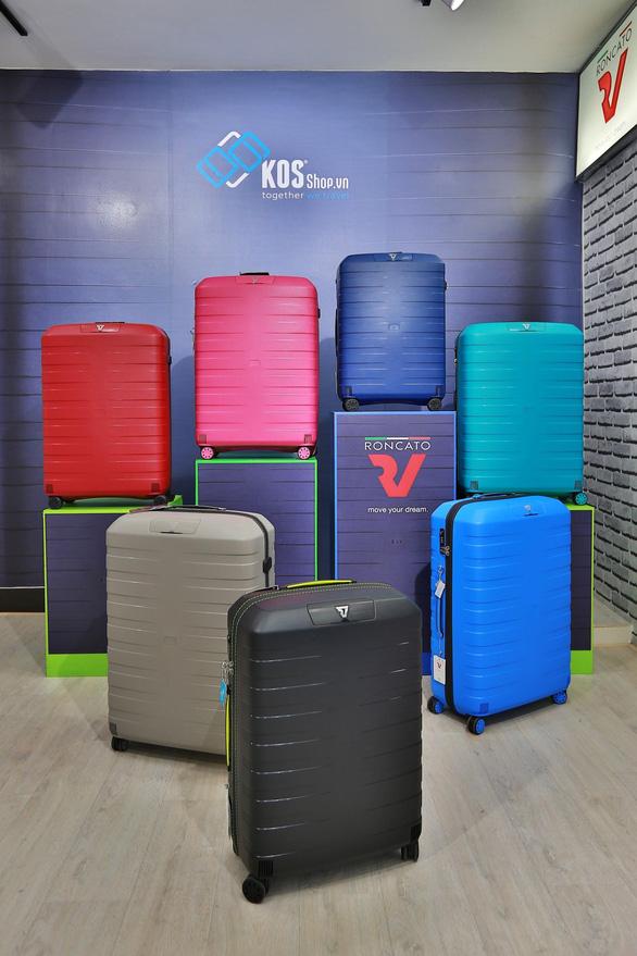 KOS - Hệ thống phân phối vali Made in Italy chính hãng tại Việt Nam - Ảnh 3.
