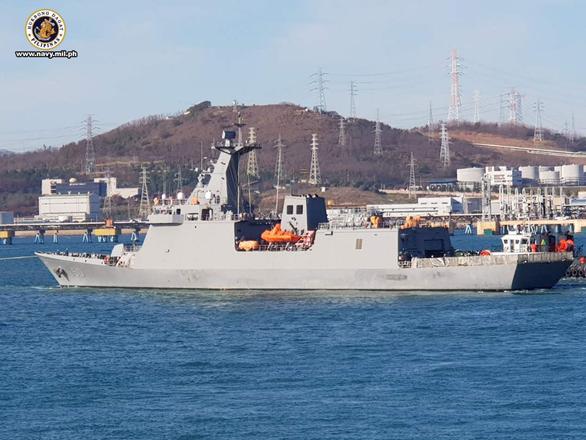 Philippines nhận tàu tên lửa mới đầu tiên sau hàng chục năm xài đồ cũ - Ảnh 1.