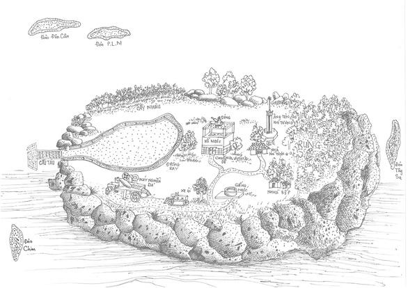 Tư liệu Hoàng Sa - hành trình trái tim - Kỳ 3: Người vẽ bản đồ Hoàng Sa bằng trí nhớ - Ảnh 4.