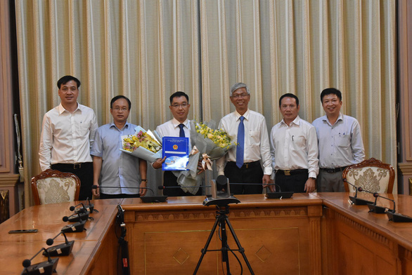 Phó chủ tịch UBND quận 2 giữ chức phó giám đốc Sở Xây dựng - Ảnh 1.