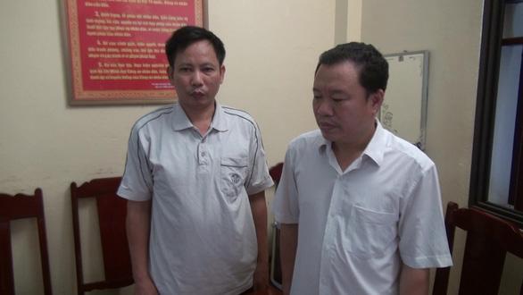 Bắt bí thư đảng ủy xã và cán bộ địa chính lạm quyền khi thi hành công vụ - Ảnh 1.