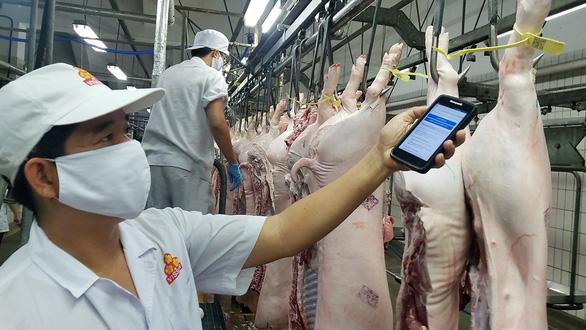 Thịt, trứng cung cấp cho TP.HCM đang tăng dần, thịt heo tươi còn khó - Ảnh 1.